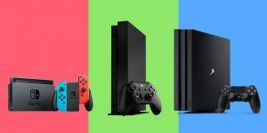 Mejores consolas Nintendo Switch Xbox One PS4