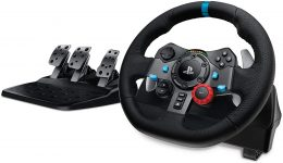 Volante y pedales gaming Logitech G29 Driving Force